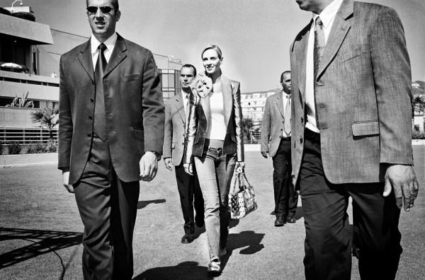 """Emanuele Scorcelletti """"The bride, Uma Thurman"""", 57th Cannes Festival, Mai 2004"""