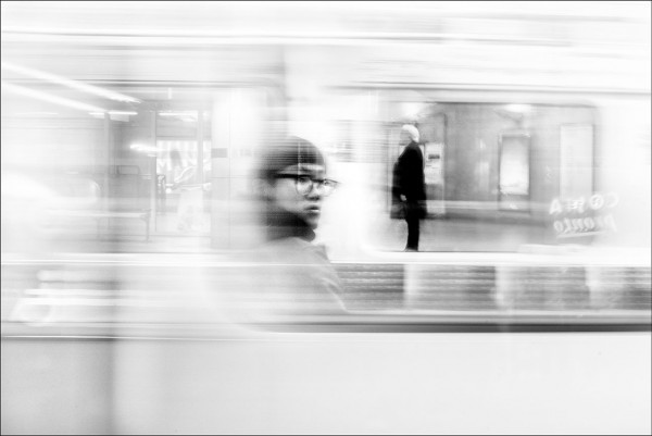"Alan Schaller ""London Underground in Transit"""