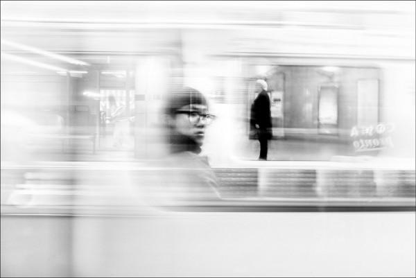 """Alan Schaller """"London Underground in Transit"""""""
