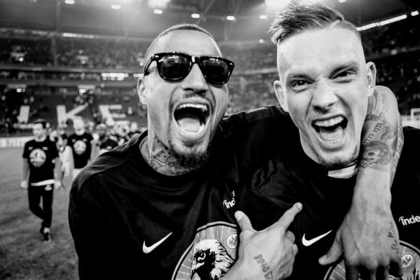 "Holger Sà ""Kevin Prince Boateng, Marius Wolf"", Schalke, 2018"