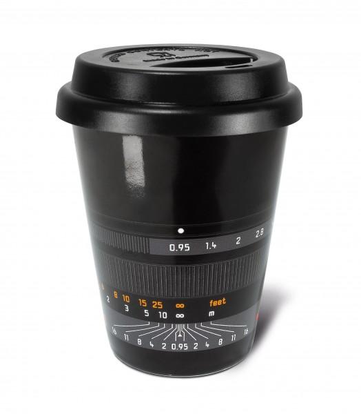 """Kaffeebecher """"Noctilux-M 50"""", schwarz"""
