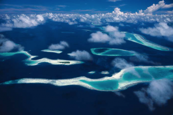 "Michael Friedel ""Nord-Male-Atoll, Malediven, 1980"""