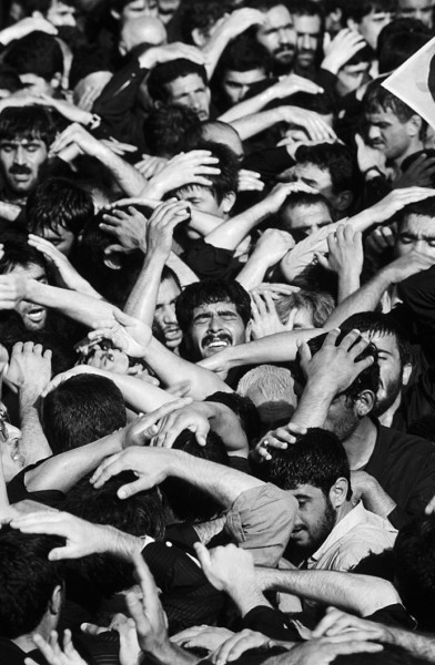 Régis Bossu ''Iran, Tehran'', 1989