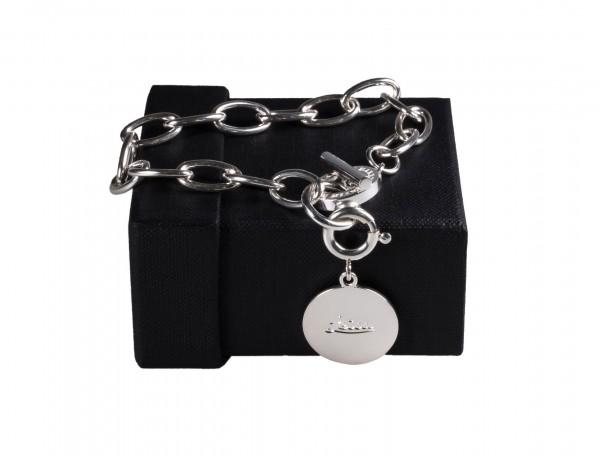 Bracelet with Leica logo, 925 silver