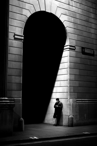 "Alan Schaller ""London Royal Exchange"""