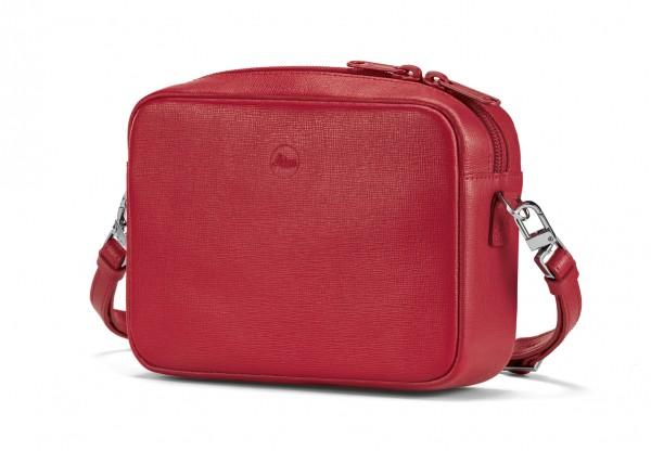 Handtasche Andrea C-Lux, Leder, rot