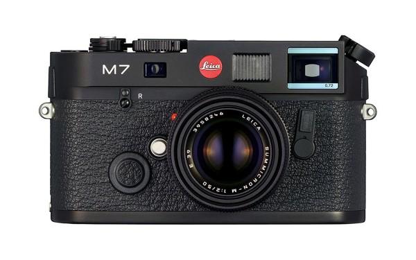 Leica M 7 0.72 Einsteigerset, Schwarz verchromt mit Objektiv M 1:2/50 mm