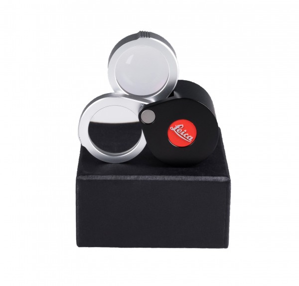 Leica Magnifying glass 3 & 6x enlargement, modern design