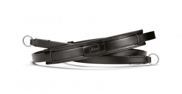 Leica CL neck strap, leather, black