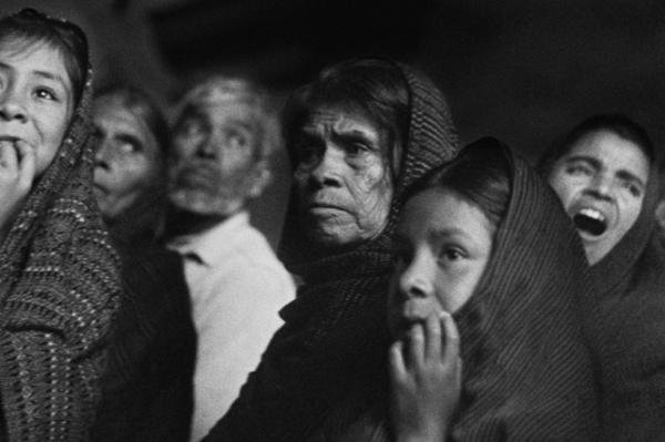 """Michael Friedel """"Gottesdienst"""", Oaxaca, Mexiko, 1956"""