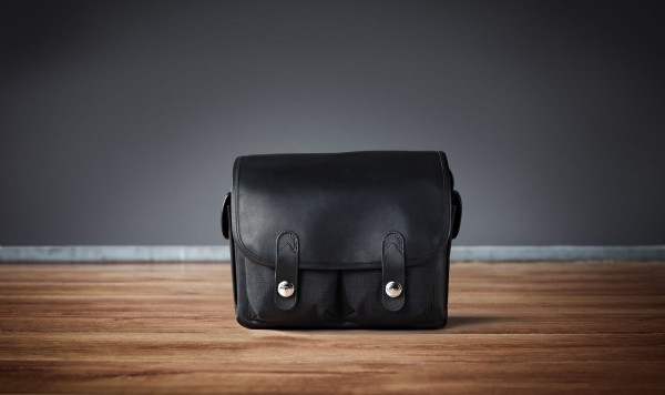 "Camera bag ""Wetzlar"" Oberwerth, Cordura black, black leather"