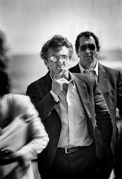"Emanuele Scorcelletti ""The hitman, Sean Penn"", 57th Cannes Festival, Mai 2004"
