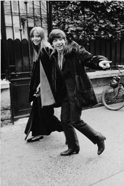 "Michael Friedel ""David Bailey, Starfotograf, und Penelope Tree"", London, England, 1968"