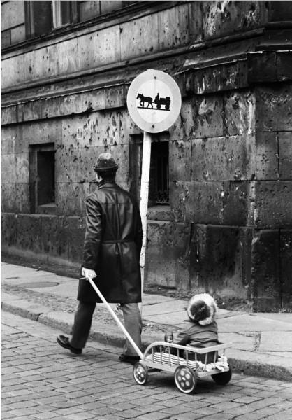 Régis Bossu ''Am Kupfergraben'', East Berlin, 1972