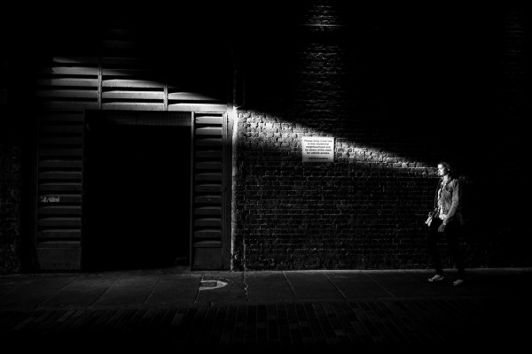 "Alan Schaller ""Light Beam, London"""