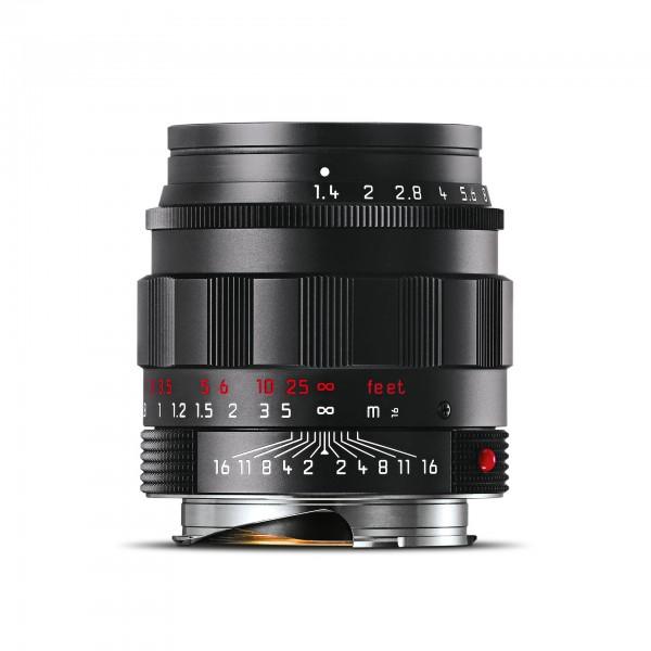 Leica Summilux-M 1:1,4/50mm ASPH., schwarz verchromt