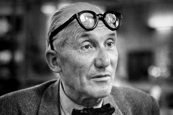 """René Groebli """"Le Cobusier (#286), 1955"""
