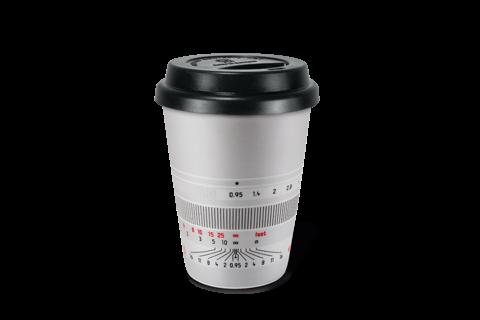 """Kaffeebecher """"Noctilux-M 50"""", silbern"""