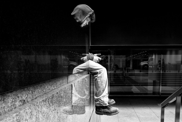 "Alan Schaller ""New York Reflection"""