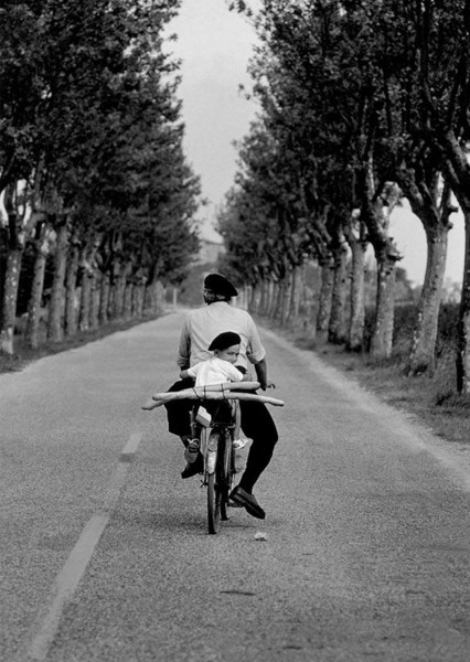 """Postcard """"Elliott Erwitt - Provence, 1955"""""""