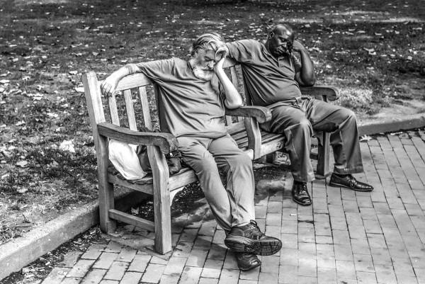 """Mathieu Bitton """"Sleep in black and white"""", Philadelphia, PA, 2016"""