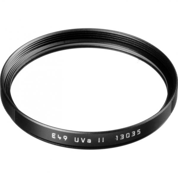 UV-Sperrfilter, E49 Uva II, schwarz