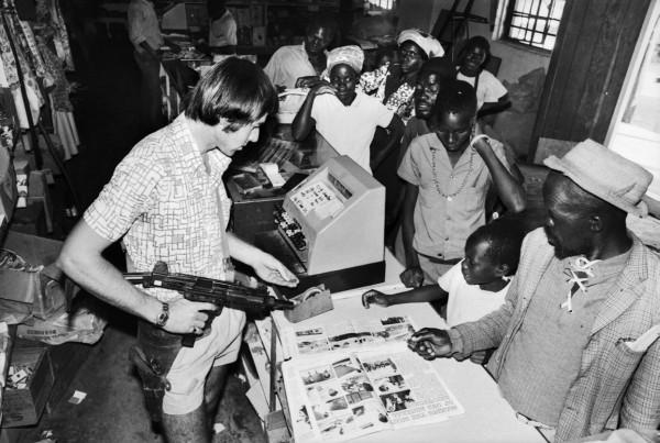 Régis Bossu ''Rhodesia (now Zimbabwe)'', 1977