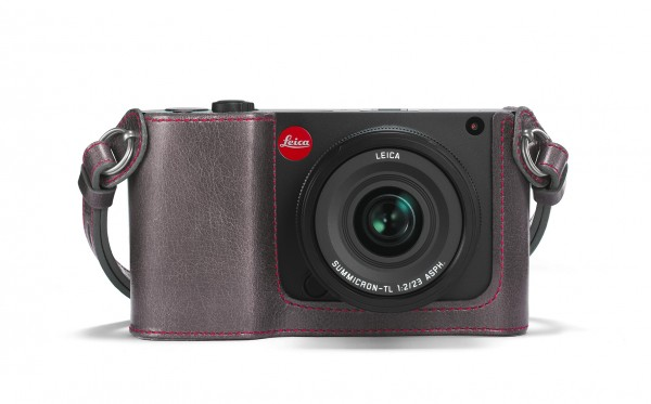 Leica Leather protector, stone grey