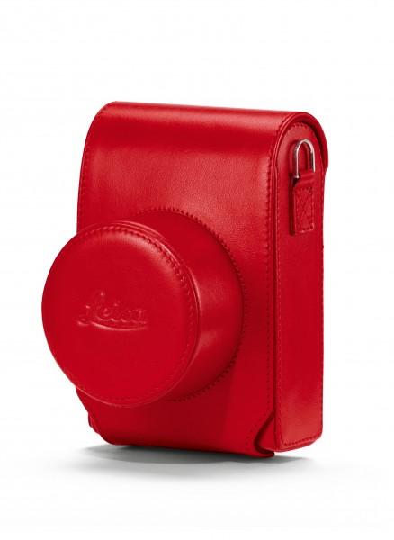 Tasche D-Lux, Leder, rot