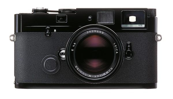 Leica MP 0.72 Schwarz lackiert, Gehäuse