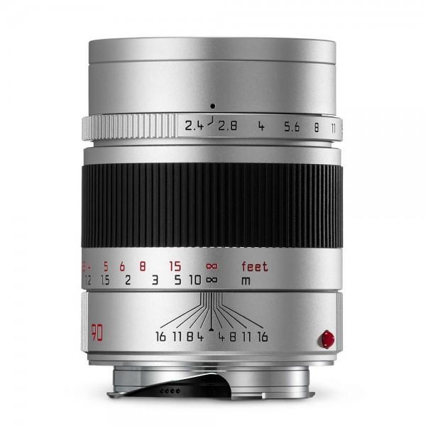 Leica SUMMARIT-M 1:2,4/90 mm Silber
