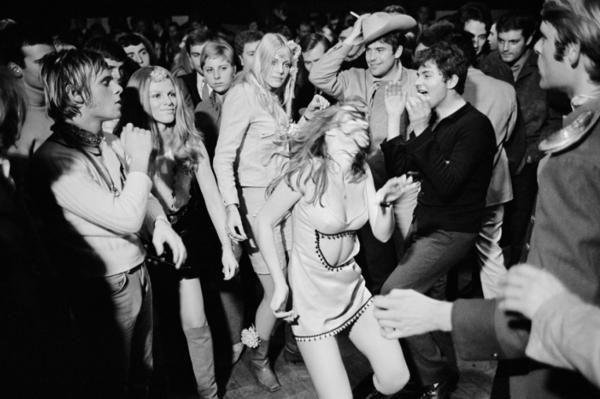 "Michael Friedel ""Eröffnung - Blow Up"", Megadisco, München, 1967"