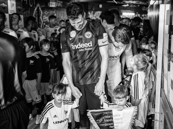"Holger Sà ""David Abraham, friendly match Eintracht Frankfurt vs. Flamengo"", Orlando, 2019"