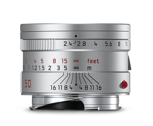 Leica SUMMARIT-M 50 mm f/2.4 Silver