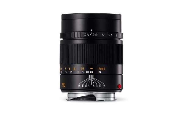 Leica SUMMARIT-M 1:2,4/90 mm Schwarz eloxiert