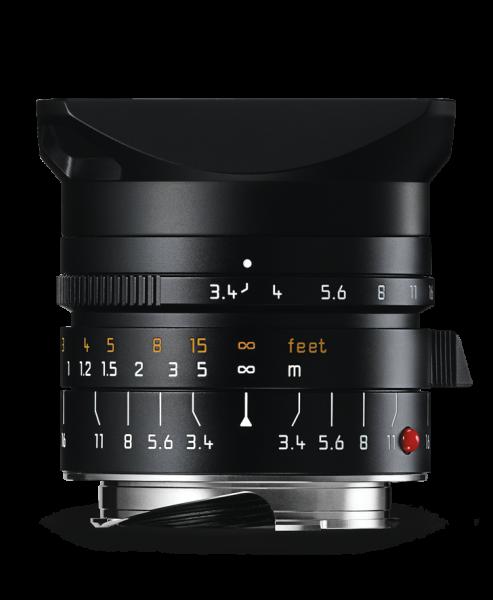 Leica SUPER-ELMAR-M 1:3,4/21mm ASPH. Schwarz