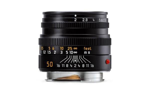 Leica SUMMICRON-M 1:2/50 mm Schwarz eloxiert