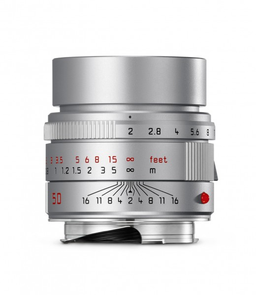 Leica APO-SUMMICRON-M 1:2,0/50mm ASPH. Silbern eloxiert