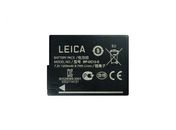 Lithium-Ionen-Akku BP-DC12 für Leica Q