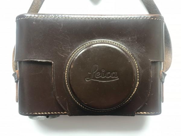 Leica Bereitschaftstasche braun für Leica II und III