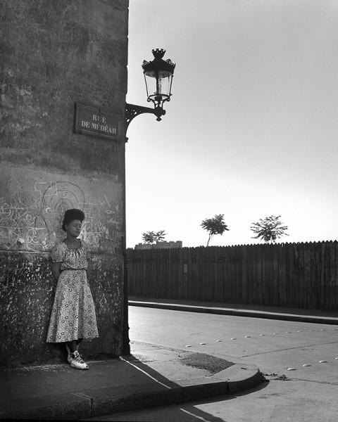 """René Groebli """"Paris (#1693)"""", 1949"""