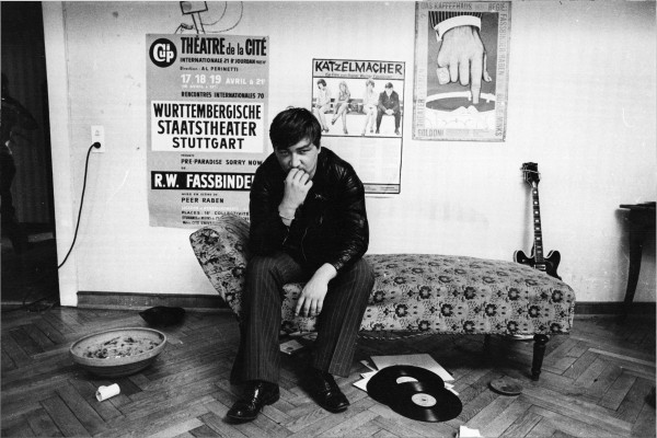 "Michael Friedel ""Werner Fassbinder at his house"", Feldkirchen, Germany, 1969"