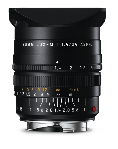 Leica SUMMILUX-M 1:1,4/24 mm ASPH. Schwarz