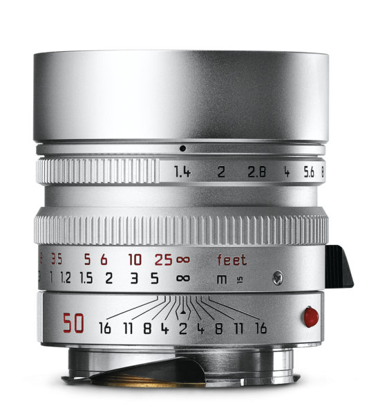 Leica SUMMILUX-M 1:1,4/50 mm ASPH. Silbern