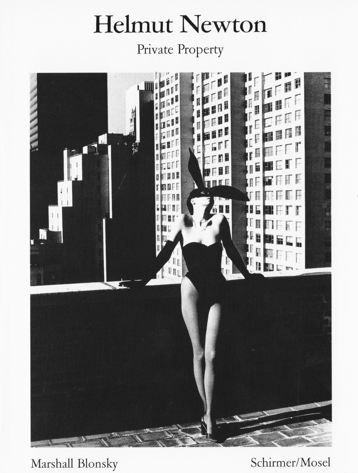 Helmut Newton Private Property, deutsche Ausgabe | Leica