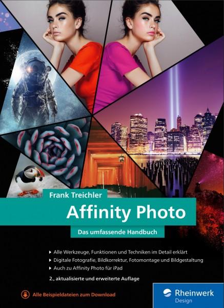 """Frank Treichler """"Affinity Photo - Das umfassende Handbuch"""""""