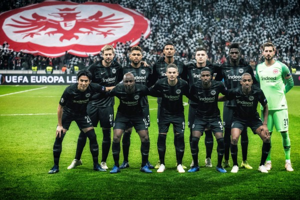 "Holger Sà ""The Team, Eintracht Frankfurt vs. Olympique Marseille"", Frankfurt, 2018"