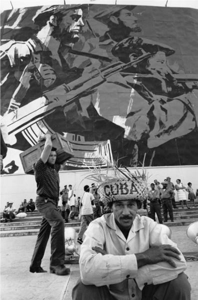 "Michael Friedel ""Parade 1. Mai, Pause"", Havanna, Kuba, 1967"