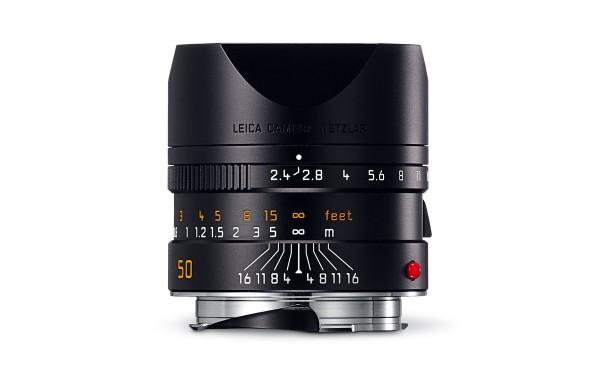 Leica SUMMARIT-M 1:2,4/50 mm Schwarz