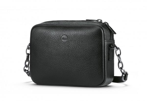 Handtasche Andrea C-Lux, Leder, schwarz